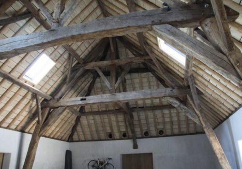 Dakgebinten restauratie Calleeuw Blieck in Brugge | ✅Dakgebinten herstellen, restauratie dakgebinten in Brugge